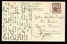 Maurizio 1911 locale utilizzare CPP somalo CAMMELLO RIDER Port Louis a Quatre Bornes 2C