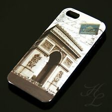 Apple iPhone 5 Hard Case Schutz Hülle Cover Etui Schale Triumphbogen France