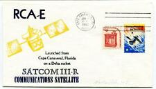 1982 RCA-E Satcom III-R Communication Satellite Cape Canaveral Florica Delta USA