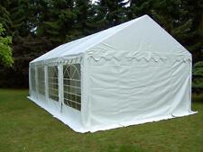 5x8m PVC Partyzelt Bierzelt Zelt Gartenzelt Festzelt Pavillon weiß NEU
