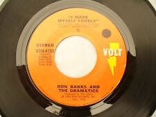 RON BANKS / DRAMATICS HIGHWAY TO HEAVEN / I MADE MYSELF LONELY  soul 45rpm