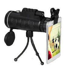 PANDA 40X60 Travel HD Zoom Focus Optical Prism Monocular Telescope,phone clip,US