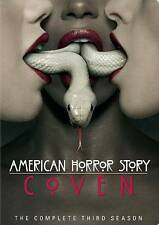 American Horror Story Coven ~ The Complete Season 3 Three Third Season Brand New