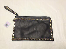 Ladies Koko Studded Clutch Bag Purse Studded Evening Party Shoulder Strap Party