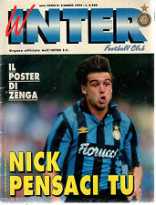 INTER FOOTBALL CLUB=N°3 1994=BORUSSIA DORTMUND - INTER 1-3= NICOLA BERTI