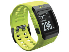 NIKE + SportWatch GPS powered by TomTom Volt verde watch & Free FOOT SENSORE