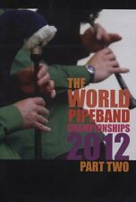 WORLD PIPE CHAMPIONSHIPS 2012 PART TWO New + Sealed DVD Pt. 2 Live Glasgow Green