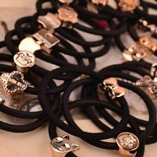 60pcs Elastic Hair Rubber Band Rope Cuff Tie #B Ponytail Holder Ring Hairband