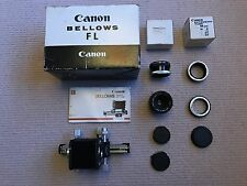 Canon FL Bellows +50mm f3.5 S.S.C Macro Lens +Rev. Coupler +20mm Ext Tube +FD-EF
