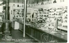 PLYMOUTH,VERMONT-INTERIOR VIEW-STORE-1956--RPPC-(RP#1-46)