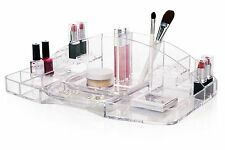 Acrylic Cosmetic Makeup Women Vanity Organizer Holder Storage Caddy Tray Gift