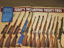 GUNS & AMMO TEST SAKO 995, 22 RIFLES, H&K USP, COLT 1911 40S&W, DAKOTA RIFLE