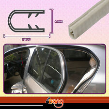 04# White U Shape Car Door Window Edge Trim 48ft PVC Rubber Protection Strip DIY