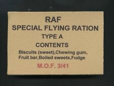 SET OF 2 WW2 BRITISH RAF EMERGENCY FLYING  RATION BOXES (REPRO)