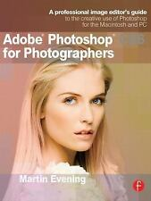 ADOBE PHOTOSHOP CS6 FOR PHOTOGRAPHERS - MARTIN EVENING (PAPERBACK) NEW