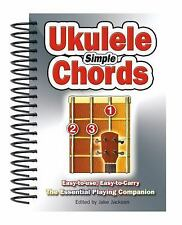 Simple Ukulele Chords: Easy-to-Use, Easy-to-Carry by Jake Jackson (2014)
