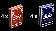 Bulk buy, 8 packs of 500 Playing Cards