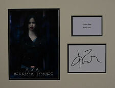 KRYSTEN RITTER SIGNED JESSICA JONES MOUNT UACC REG 242