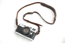 Genuine Real Leather Camera Shoulder Neck strap for film EVIL camera 01-139