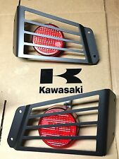 KAWASAKI TERYX 4-PAIR  LED TAIL LIGHT x2 + GUARDS! USA( lamp 750/800) teryx4 -pc