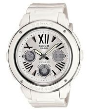Casio Baby-G * BGA152-7B1 Large Face White & Silver Anadigi for Women COD PayPal
