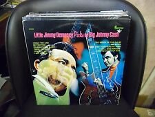 LITTLE JIMMY DEMPSEY Picks On Big Johnny Cash LP EX Plantation PLP-10 Stereo