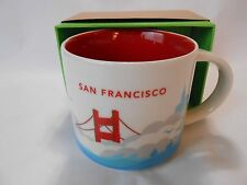 San Francisco NEW Starbucks Coffee Tea Cup Mug 14oz You Are Here Collection 2015