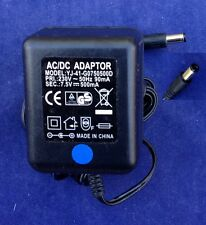Chargeur Adaptateur YJ-41-G0750500D 7.5V 0.5A 5.5mm/2.1mm