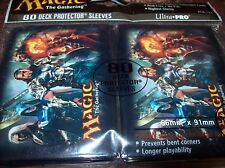 Ultra Pro Magic the Gathering MTG 2012 Planeswalker Card Sleeves 80ct sealed