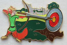 DISNEY STORE EUROPE ROBIN HOOD SLIDER ARROW PIN LIMITED EDITION 500 RARE GRAIL