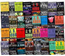 JD Robb (Nora Roberts) Audiobook Collection
