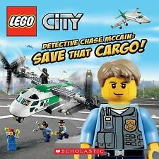 Lego City: Detective Chase McCain- Save That Cargo! by Trey King (2013,...