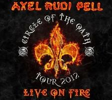 Axel Rudi Pell - Live On Fire - Circle Of The Oath Tour 2012 - 2CD - Power Metal