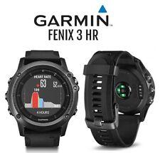New Garmin FENIX 3 HR Sapphire Sport Waterproof Fitness Training GPS Watch gray