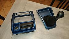 center console double din blue shifter cover knob subaru impreza gc8 wrx sti jdm