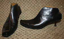 CYDWOQ Dark Brown SKATE Ankle Boots Vintage Line 40.5