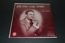 Fill My Cup, Lord~Songs Of Devotion~Stan Wright~Supreme Records~FAST SHIPPING