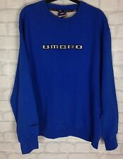 VINTAGE RETRO UMBRO 90s SWEATER JUMPER GRUNGE URBAN RENEWAL UK L