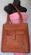 Mario Hernandez Brown Leather Shoulder Bag