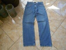 H0423 Levis 569 Loose Straight Jeans W29 Mittelblau ohne Muster