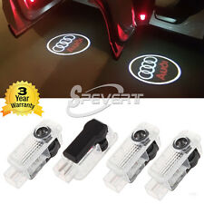 Car Door Courtesy Laser 4 LED Logo Light Shadow Projector F Audi A4 A5 A6 Q5 Q7