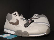 2004 Nike Air TRAINER 1 BOOK OF ONES STERLING FOG CHARCOAL GREY 306530-002 10.5
