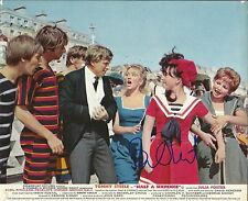 Hand Signed 8x10 orignal Lobby Card TOMMY STEELE Half a Sixpence - Elvis Presley