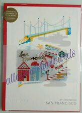 Starbucks 2016 San Francisco Holiday City Card
