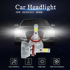 KKMOON Pair H8/H9/H11 Car COB LED Light Headlight Fog Lamp 6000K 30W Kit Y2X3