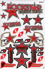 New Rockstar Energy Motocross ATV Racing Graphic stickers/decals. (st96)