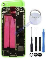 COQUE CHASSIS ARRIERE ASSEMBLEE COMPLET POUR IPHONE 5C VERT ORIGINAL OUTILS