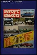 Sport Auto 9/81Mazda RX 7 Talbot Murena Scirocco +Poster