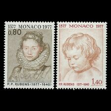 Monaco 1977 - Birth of Peter Paul Rubens Art Paintings Painter - Sc 1064,6 MNH