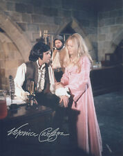 VERONICA CARLSON Signed 10x8 Photo HAMMER Horror FRANKESTEIN Has Risen COA